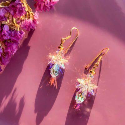 Engel Ariel øreringe forgyldt - Moni Sattler
