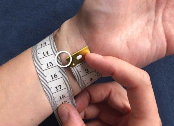 Hvordan måler du dit håndled