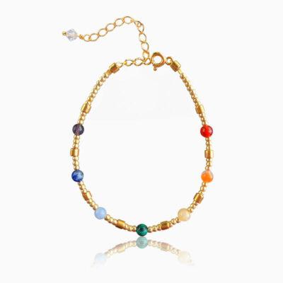 Heal Yourself - Chakra mini armbånd - Moni Sattler