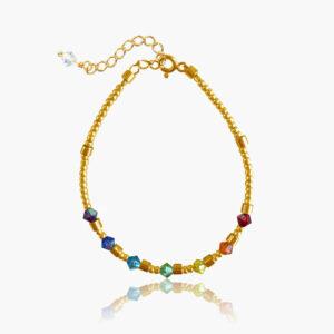 Chakra Shiny armbånd - Moni Sattler