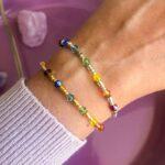 Chakra Shiny armbånd – Moni Sattler