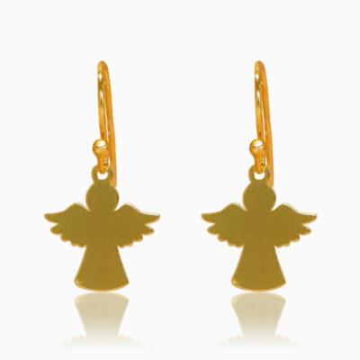 Cute mini engle øreringe - Moni Sattler