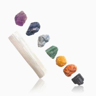 Chakra sten sæt - Moni Sattler