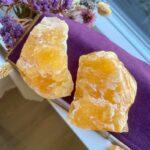 Calcit orange rå – Moni Sattler