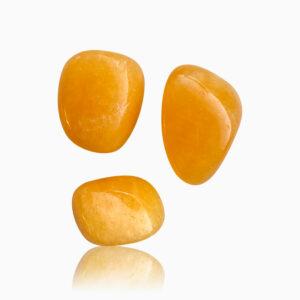 Calcit orange lommesten - Moni Sattler