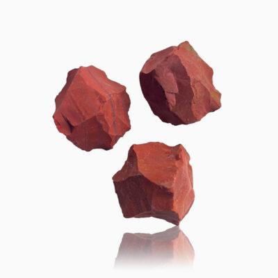 Rød Jaspis rå - Moni Sattler