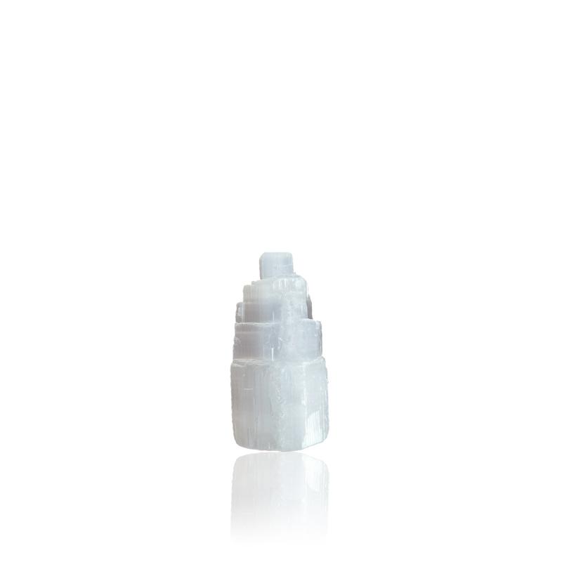 Selenit tårn 6 cm - Moni Sattler