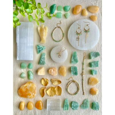 Selenit plade - Moni Sattler