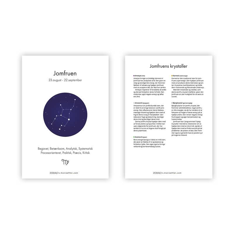 Jomfruen - Zodiaci