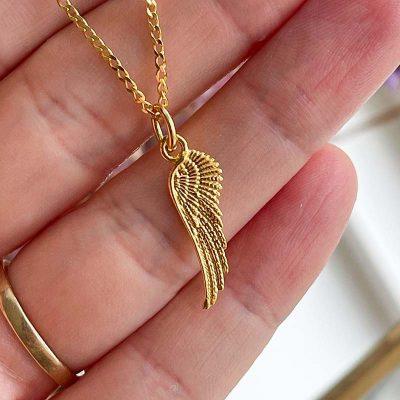 Wing pendant - Moni Sattler